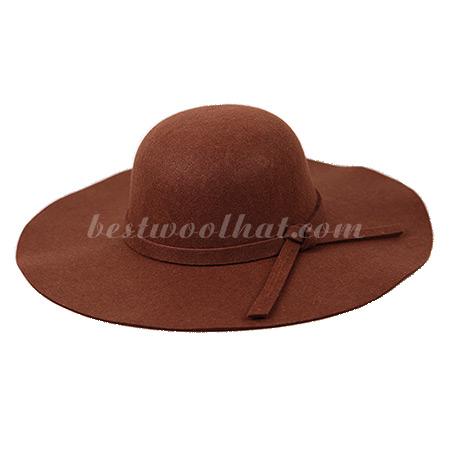 floppy hat wool felt hat